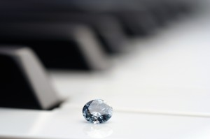 ベートベンの遺髪からつくられたダイヤモン
